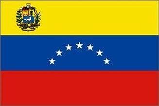 Venezuela 8 Star 3/' X 2/' 3ft x 2ft Flag With Eyelets Premium Quality