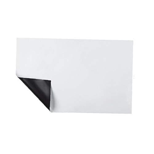 asdfwe Hoja Magnética De Borrado En Seco Pizarra para Nevera Pizarra Magnética para Suministro Índice Refrigerador De La Oficina - 30 X 42cm