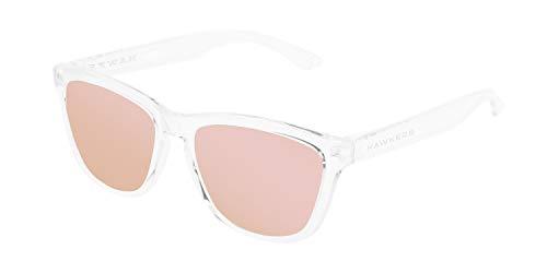 HAWKERS Gafas de sol, TRANSPARENTE/ROSA, One Size Unisex-Adult