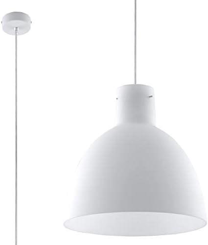 Sollux lumièreing Olivia Suspension en verre Blanc