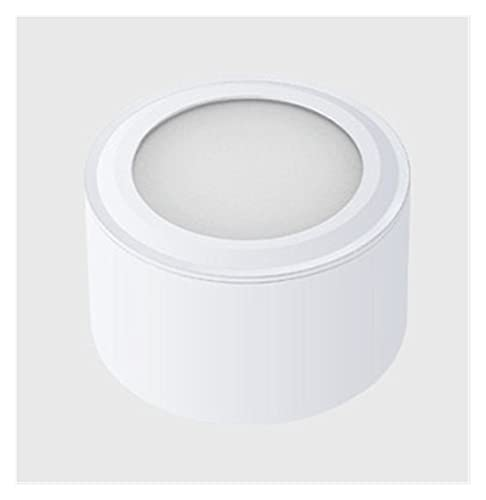 JUNQIAOMY Downlight Dimpiente LED Downlights 6W 10W 14W 20W COB LED Luz de Techo Luces de Punto AC85-265V Lámpara de Pared LED Lámpara Interior Blanco Negro