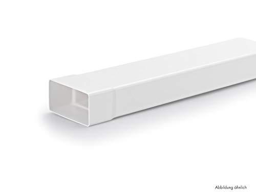 Naber N-VRM 100 Lüftungsrohr mit Muffe, weiß, 1000 mm