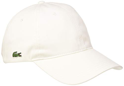 Lacoste Rk4714 Gorra, Blanco (Blanc 001), Talla única (Talla del Fabricante: TU) para Hombre