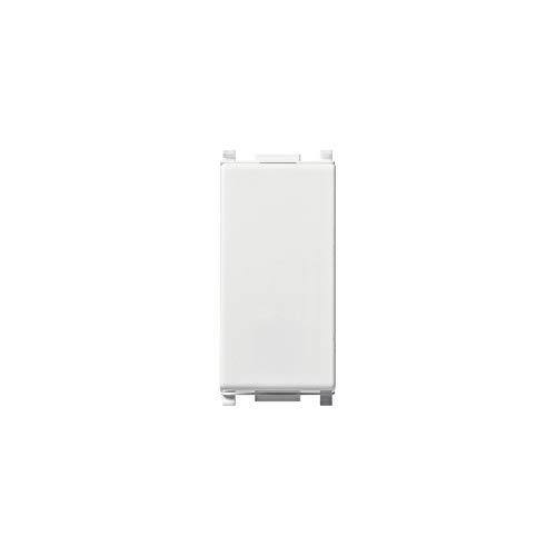 Vimar 14013 Invertitore 1 Modulo, Bianco