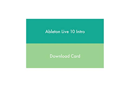Ableton Multitrack Recording Software, Green (Live 10 Intro)
