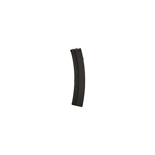 Cyma Cargador Airsoft para Réplica de Tipo HK MP5/MP5 DS6/MP5K/MP5 PDW/Negro, Metal, 150 balines, C78, Heckler & Koch