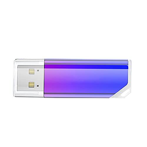 Unidades flash USB, USB 3.0 8GB/16GB/32GB/64GB/128GB USB degradado Mini pendiente cola Metal Flash Drive para computadora - 32GB