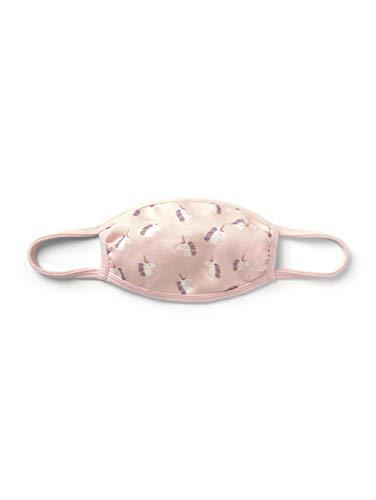 TOM TAILOR Unisex Kinder Muster Stoffmaske, Soft Pink, Einheitsgröße