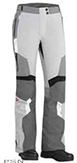 Can-Am Spyder Motorcycle Ladies Women Caliber Waterproof Riding Pants WHITE/GREY