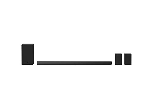 LG SN11RG 7.1.4ch Dolby Atmos & DTS:X Sound Bar with Meridian Technology