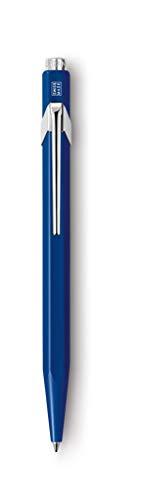 CARAN d'ACHE - Kugelschreiber 849 aus Metall - 1 Stück Saphirblau