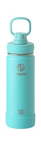 【タケヤ公式】 タケヤフラスク アクティブライン 0.52L ティール 水筒 ステンレスボトル 直飲み 保冷 TAKEYA