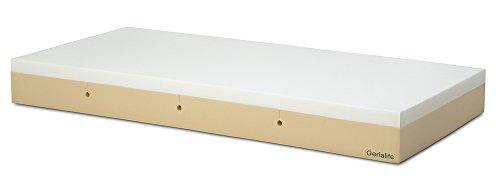 Gerialife® Colchón Geriátrico Hospitalario Articulado   8 cm de Viscoelástica   Funda Sanitaria Impermeable (90x190)