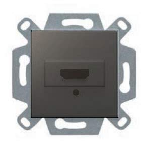 Conector hdmi gris lava serie VIVA BJC 23578-HDMI-GL