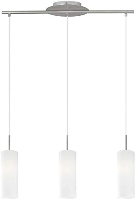 RGB LED Hnge Pendel Leuchte Wohnraum Decken Glas Lampe Fernbedienung DIMMBAR Eglo 75252