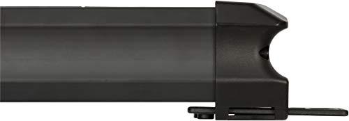 Brennenstuhl Premium-Line regleta de enchufes con 6 tomas de corriente y USB (cable de 3 m, carga USB, interruptor, montable, Hecho en Alemania) negro