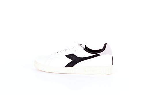 Diadora - Game L Low Used - White/Black