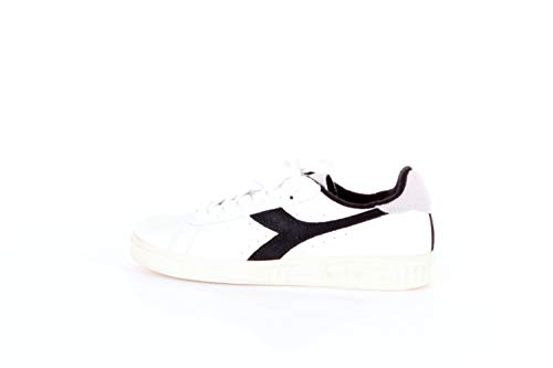 Diadora - Game L Low Used - White/Black