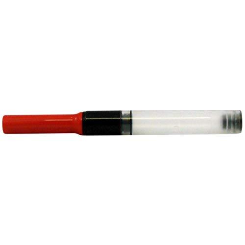 Conversor pluma para la modellreihen: Lamy ABC, LAMY AL-star, LAMY joy, LAMY nexx, Lamy nexx M, LAMY safari y LAMY vista. Color: Rojo Precisa flujo de tinta sin klecksen y lubricación