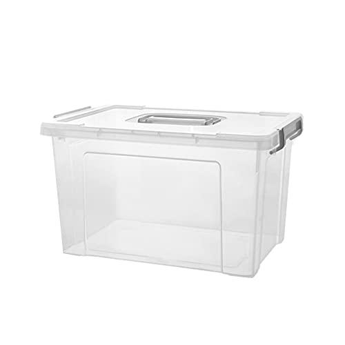 Gofeibao BotiquíN Caja Botiquin Medicación Caja de Almacenamiento Caja de Almacenamiento de Primeros Auxilios Grandes Cajas de Almacenamiento Transparent,Medium