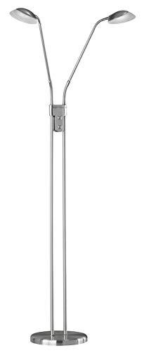 Fischer & Honsel Pool TW Lámpara de pie, Color níquel