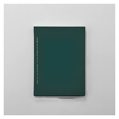 WANGYIYI Cuadernos de Tapa Dura Blocs de Notas de Escritura para Estudiantes Impermeables y engrosados Diarios portátil Retro Simplicity Daily Plan para Office Home School Business
