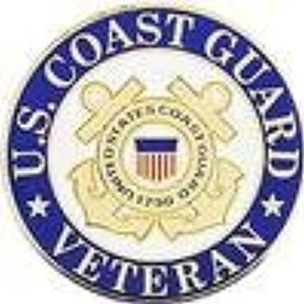 Amazon com: US Coast Guard Veteran Lapel Pin: Automotive