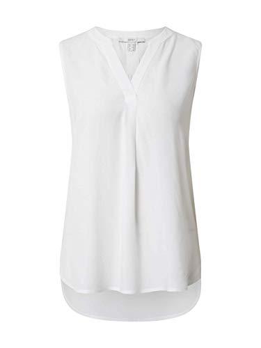 ESPRIT Damen 050EE1F304 Bluse, Off White (110), 36