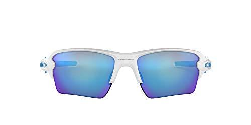 Oakley Sonnenbrille Flak 2.0 XL - Gafas de Ciclismo, Blanco (Matte White), Talla única 59mm