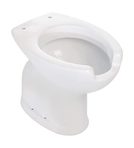 'aquaSu® Stand-WC Komfort   Behindertengerecht   Weiß   Tiefspüler   Abgang innen senkrecht