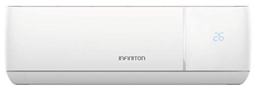 INFINITON Aire Acondicionado Split 3820FJ (A+++, Inverter, Gas R32, WiFi, Deshumidificador, Funcion Eco, i-Clean) (3500 FRIGORIAS (A+++))