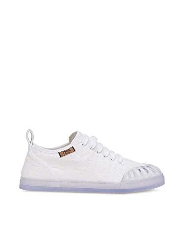 FENDI Luxury Fashion Damen 8E7083ABN4F0QA0 Weiss Baumwolle Sneakers | Jahreszeit Outlet