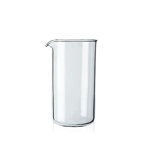 Bodum Vaso de precipitados de repuesto para prensa de café, vidrio - 3 tazas, transparente