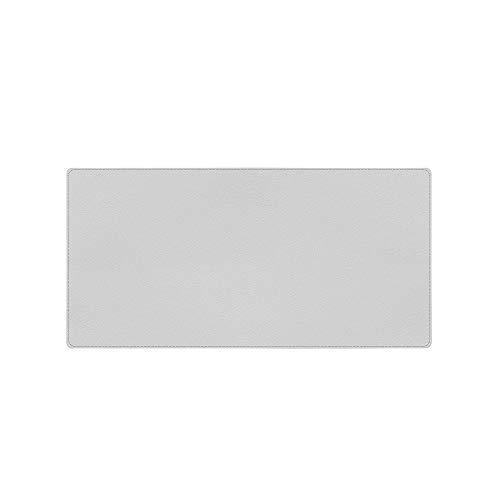 Mouse Pad dupla face de couro PU de cortiça ecológica, cinza
