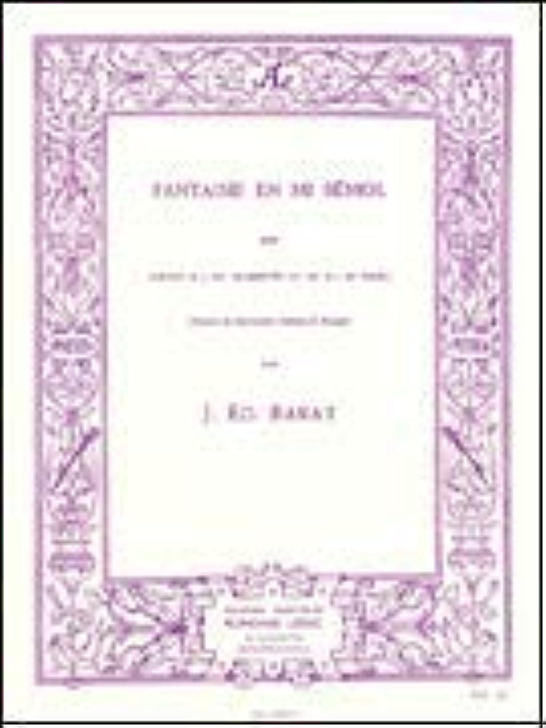 Fantaisie En Mi Bémol: for Cornet or Trumpet and Piano