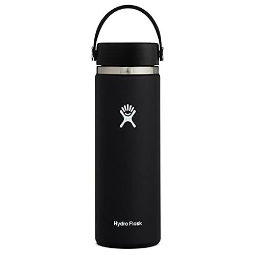 ハイドロフラスク 真空ボトル 保冷 保温 20oz(591ml) ワイドマウス 20ブラック 5089024