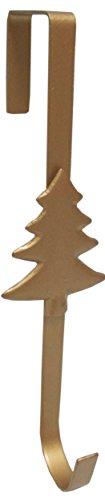 CHRISTMAS CONCEPTS LTD Corona de Navidad Percha Metal - Oro Diseño Árbol - 29cm