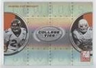 Tatum Bell; Vernand Morency (Football Card) 2005 Donruss Elite - College Ties #CT-8