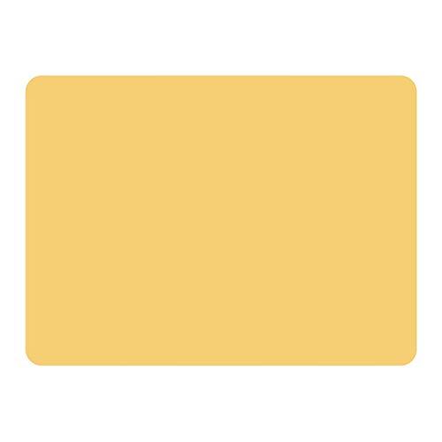 Silicona impermeable Placemats Matetas de mesa aislamiento de calor antideslizante lavable y duradero adecuado para comedor de cocina (Color : Orange)