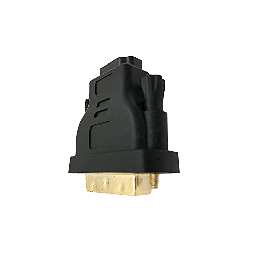 Moligin Profesional DVI-I a HDMI Adaptador Macho a Hembra Adaptador Chapado en Oro HDMI Cable de Adaptador convertidor.