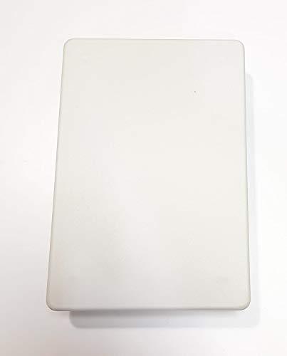 Tapa Caja Empalme 160x100mm Garra Metálica