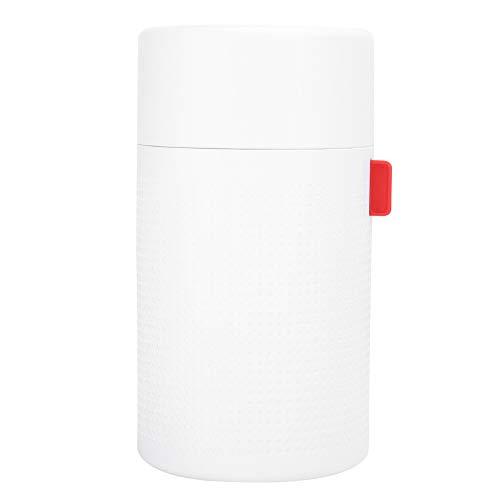 CHENQIAN Humidificador Simple Batería de 2000 mAh Difusor de Aire Recargable USB Capacidad de Agua de 750 ml para automóvil doméstico Blanco