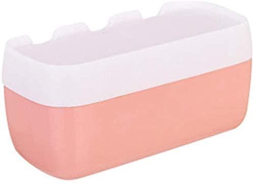 Caja de papel higiénico puño libre papel higiénico caja de papel higiénico creativo rollo de papel caja bandeja de mano porta papel higiénico rosa-rosa