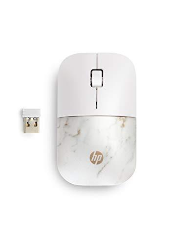 HP Z3700 kabellose Maus (1200 optische Sensoren, bis zu 16 Monate Batterielaufzeit, USB Anschluss, Plug&Play) copper marble