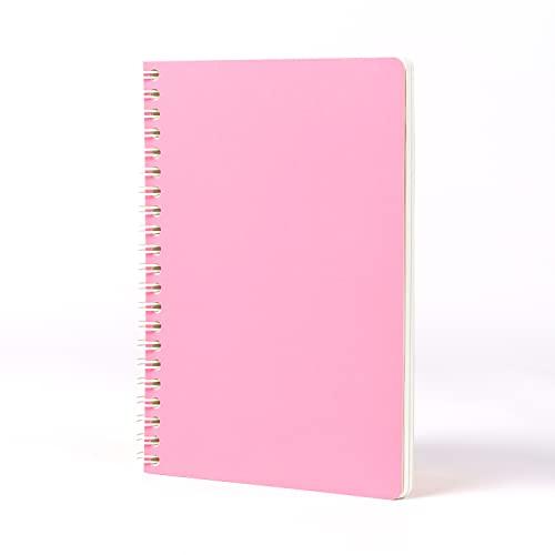 Jumble & Co Convo B6 Wiro Bound - Cuaderno de rayas (tintado en rosa), color rosa