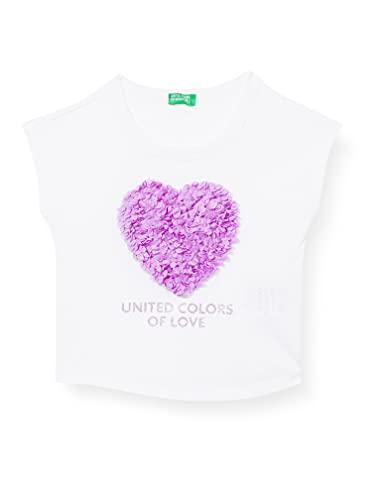 United Colors of Benetton (Z6ERJ T-Shirt 3I1XC14J2 Camiseta, BLU 901, 12 Meses para Bebés