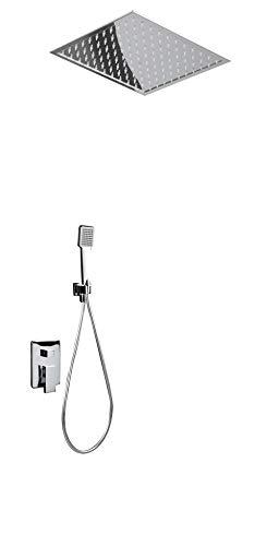 Conjunto ducha termostática Imex Volga GET015