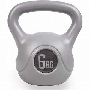 2020 Phoenix Fitness Phoenix - Pesa rusa de 6 kg para entrenamiento cardiovascular de fuerza, pesas rusas para el hogar y el gimnasio, entrenamiento de fitness para levantamiento de pesas, individual