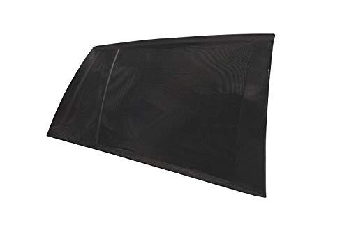 empasa Auto-Sonnenschutz Sonnenblende universal, schwarz, 2er Pack, mit Aufbewahrungsbeutel