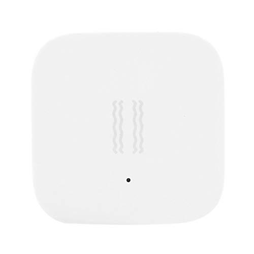 HAOX Sensor de vibración Blanco para el hogar, Sensor de vibración Inteligente, Seis Ejes para la Oficina en el hogar